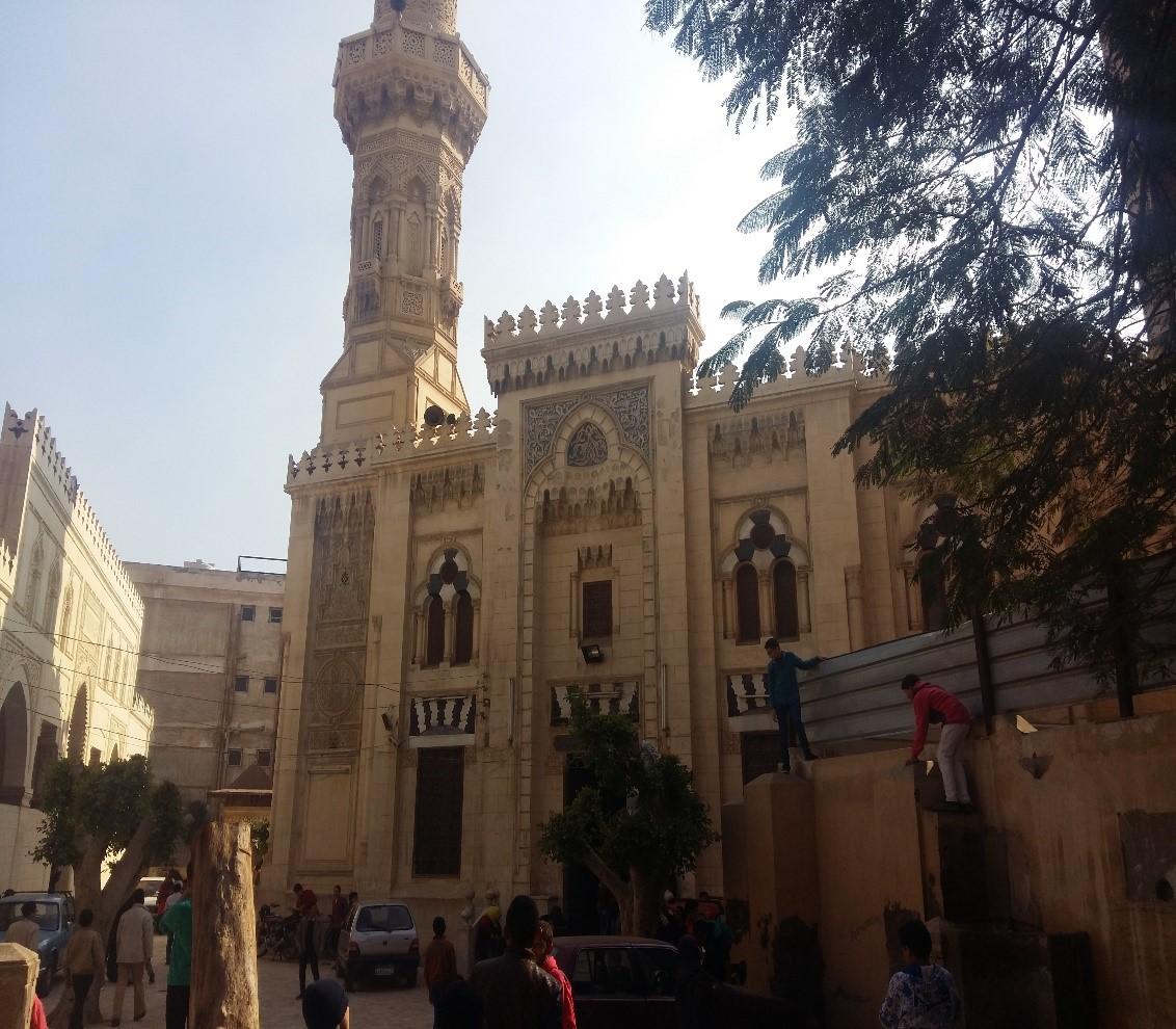 مسجد أحمد باشا المنشاوي